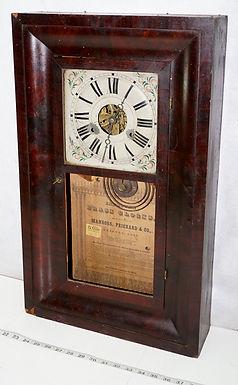 Manross Prichard Clock Ca 1850s