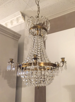 Swedish crystal chandelier swedish chandelier chelsea bath spa antique swedish chandeliers 1g mozeypictures Choice Image