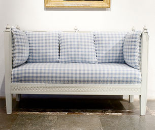 Beautiful Swedish_french_upholstered_sofa_daybed_bench