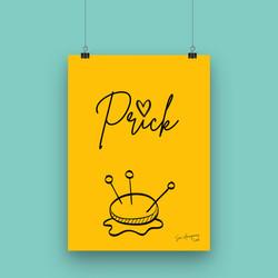 Prick - A4 Art Print