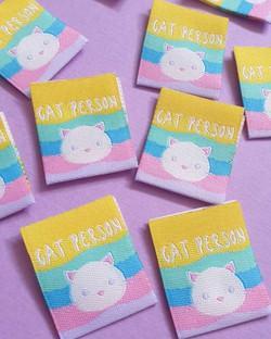 Cat Person Labels