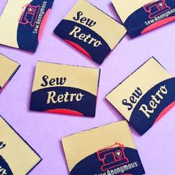Sew Retro Labels