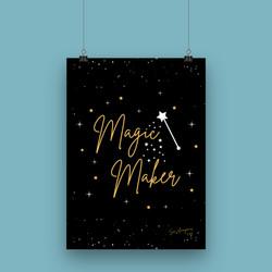 Magic Maker - A4 Art Print