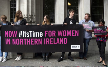 People of Northern Ireland Celebrate Marriage Equality and Decriminalisation of Abortion