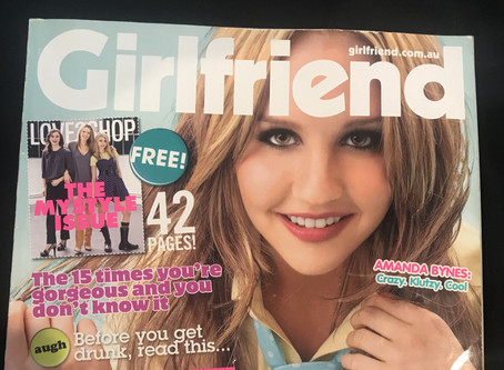 Weird Things I Found Re-Reading a 2008 Girlfriend Magazine