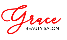 Grace beauty salon logo black:red.png