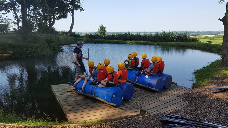 Primary School Raft Build