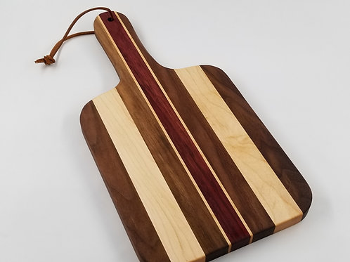 Handcrafted Cutting Board, Cheese Board, Paddle Board, Serving Tray.