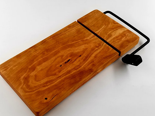 Cherry Wood, Cheese Slicer, Cutting Board, Perfect Gift, House Warming, Wedding