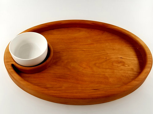 Chip and Dip Party Serving Tray. Excellent House Warming Gift