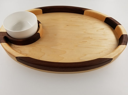 Chip and Dip Serving Tray. Makes a great Gift for any occasion