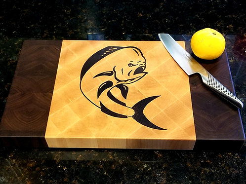 Mahi Mahi Wood Cutting Board, Perfect Seafood Lovers Gift
