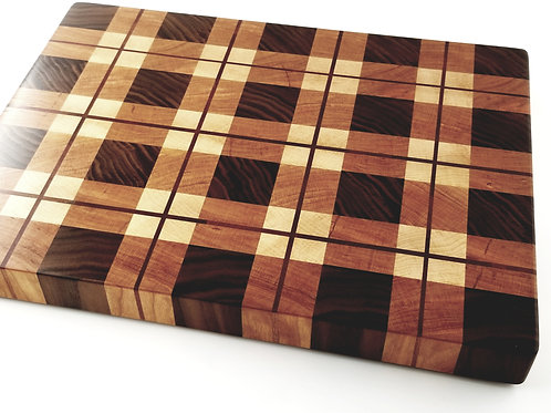 Handcrafted Wood Cutting Board. Gift for any Chef or Cook. Walnut, Maple, Cherry