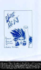 Cover: Blue Heat: A Portfolio of Poems & Drawings by Alexis De Veaux, 1985