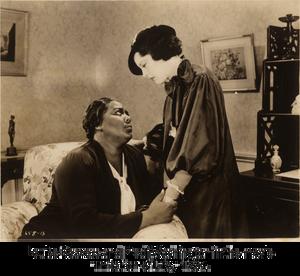 "Louise Beavers and Fredi Washington in the movie ""Imitation of Life,"" 1934."