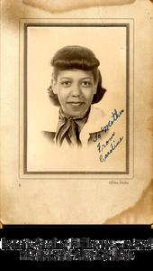 Portrait: Caroline M. Thomas, undated. Photo credit: Alston Studios