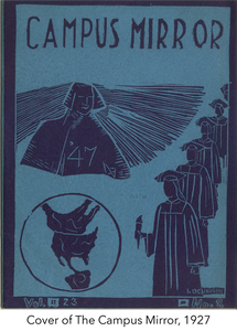 Cover of the Camput Mirror, 1927