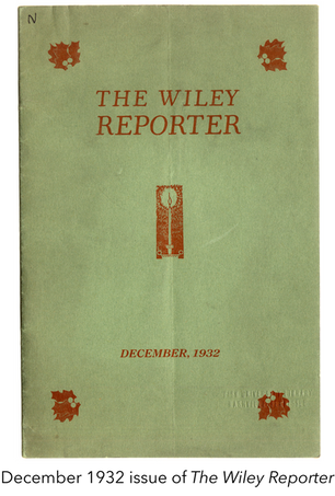 Sketches of Harlem in Texas: Melvin B. Tolson's Contributions to The Wiley Reporter