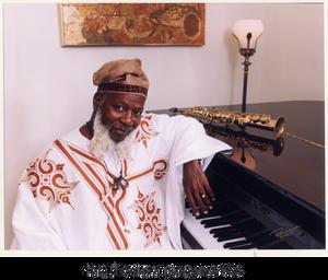 Harold Battiste at piano, circa 1996