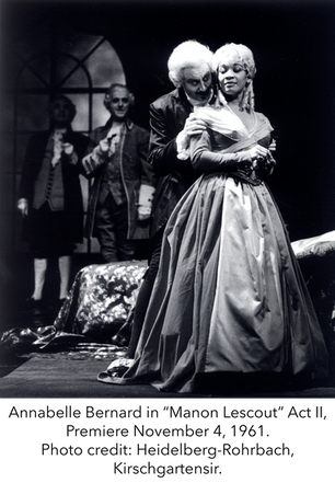 A Shining Star, Soprano Annabelle Bernard