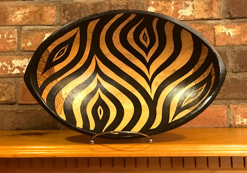 Zebra Bowl (oval)