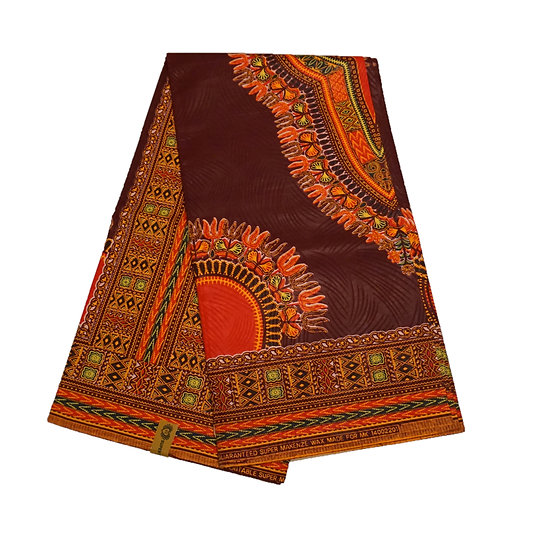 Dashiki - Wine with Orange