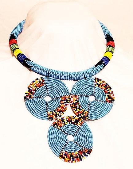 Hand-beaded Necklace - Kenya