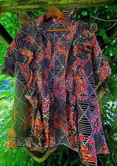 Lightweight Short Sleeve Flutter Shirt