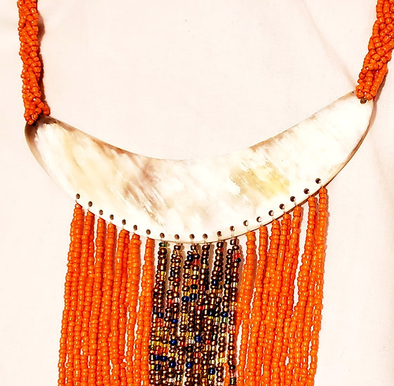 Hand-beaded Necklace - Kenya