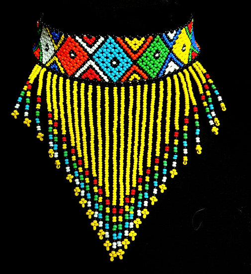 Hand-beaded Choker - Kenya
