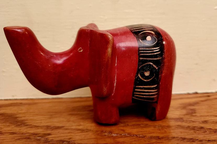 Painted Soapstone Animal