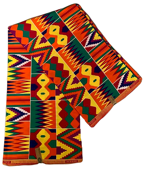 100% Cotton Wax Print Fabric