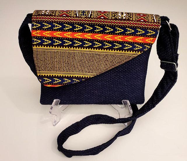 Dashiki Print Crossbody Bag