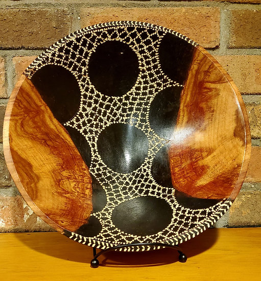 Etched Bowl