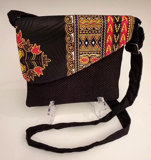 Dashiki Print Crossbody Bag