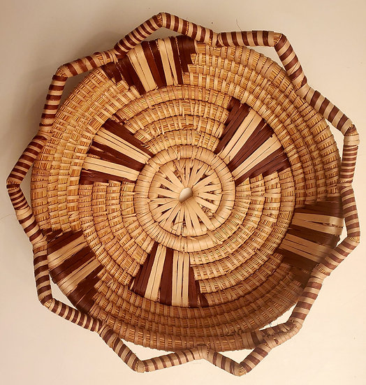 Zulu Grass Rope Basket