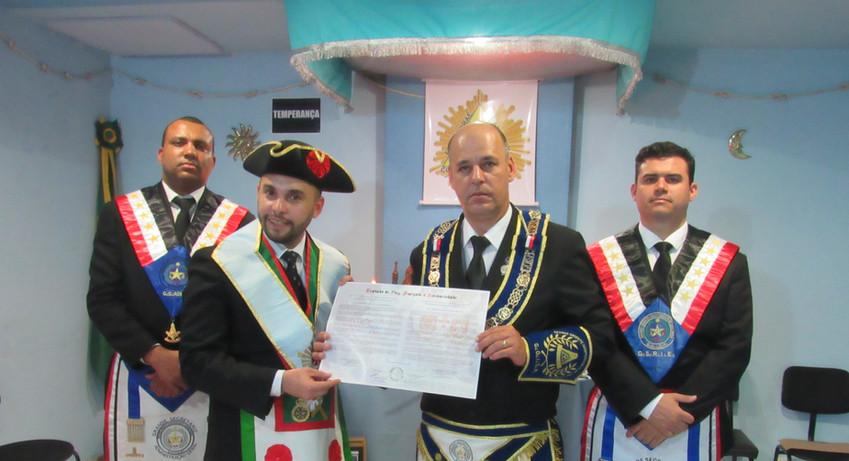 GOISP assina tratado de Paz, Amizade e Solidariedade com a Gran Priorato Rectificado de Hispania