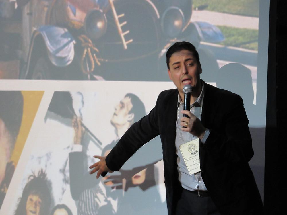 Daniel Gonçalves, Fundador do Grupo Camminus e Administrador Comercial, palestrante do Dia do Maçom 2019 - GOISP (Foto: DCM - GOISP)
