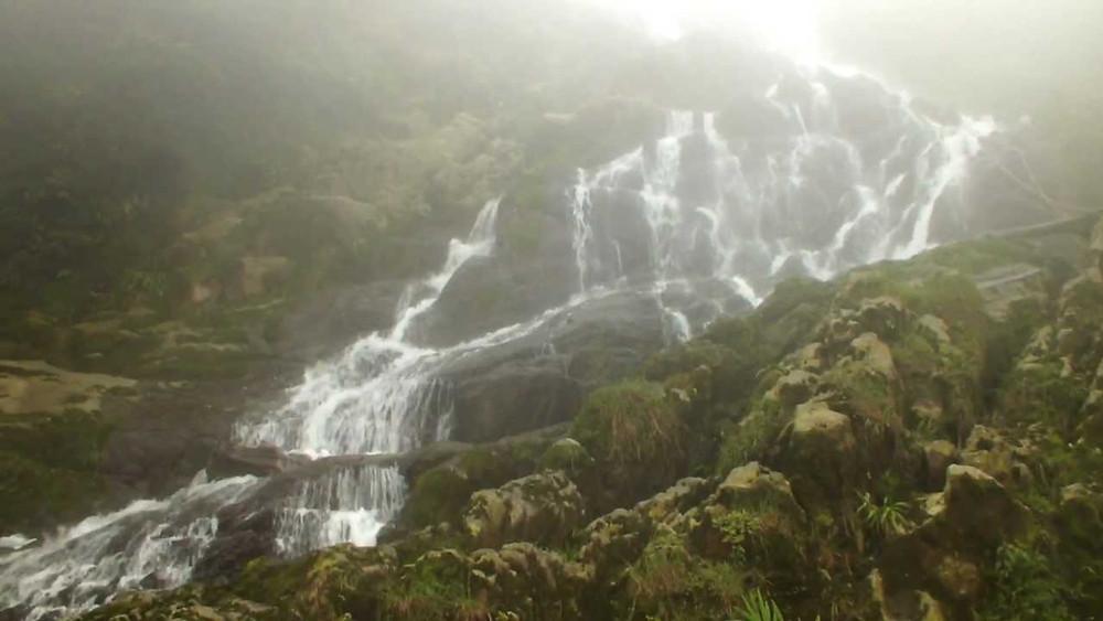 Cachoeira da Fumaça na Unidade de Conservação de Paranapiacaba, Santo André (SP) (Foto: Thiago Souza)