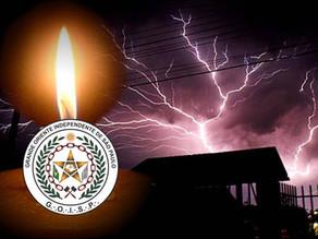 Por mais furiosa que seja a tempestade, a chama da Verdadeira Maçonaria jamais se apagará no GOISP