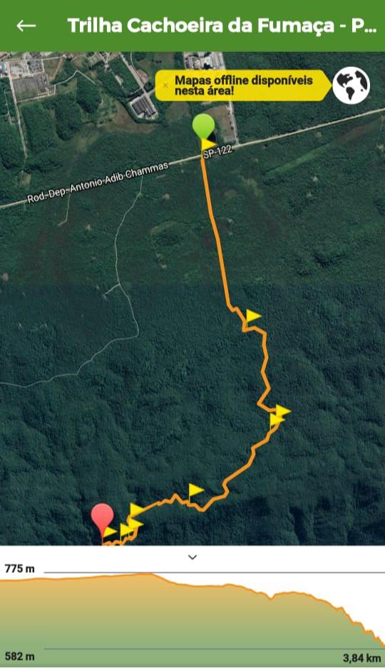Imagem da trilha enviada pelo Venerável Douglas de Lima da Augusta e Respeitável Loja Simbólica Albert Pike, 07