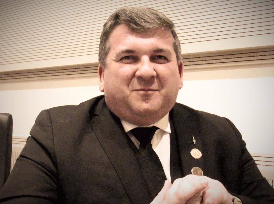 Grão-Mestre Adjunto, Irmão Comendador Cláudio Roberto Piologo, em entrevista para o GOISP NEWS (Foto: Diretoria Com. MKT - DCM - GOISP)