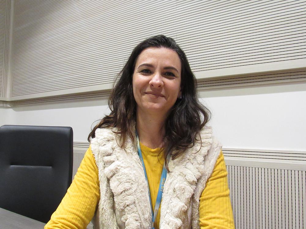 Elaine Bueno, Superintendente do Lar Sírio, Dia do Maçom 2019 (Foto: DCM - GOISP)
