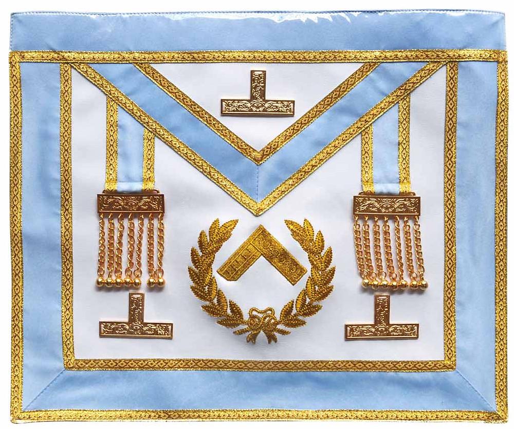 Avental do Venerável Mestre (Foto: Site O Malhete)