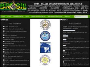 GOISP em 1º lugar no www.brasilmacom.com.br