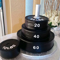 Grooms cake, the weight has been lifted.