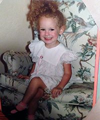 Me as a little girl!