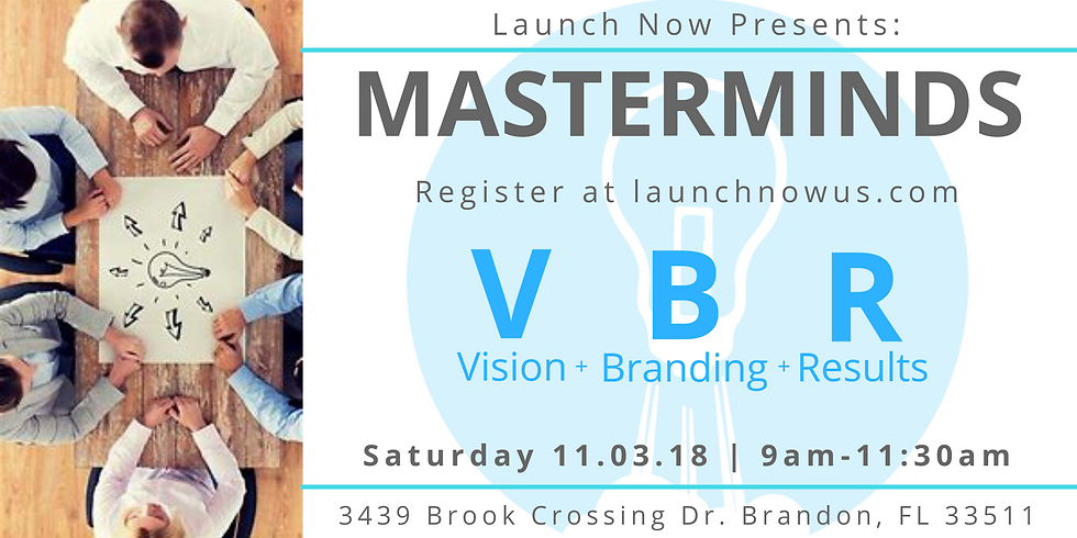 Vision Branding Results - Masterminds