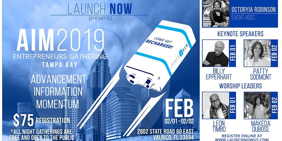 AIM 2019 Entrepreneurs Gathering