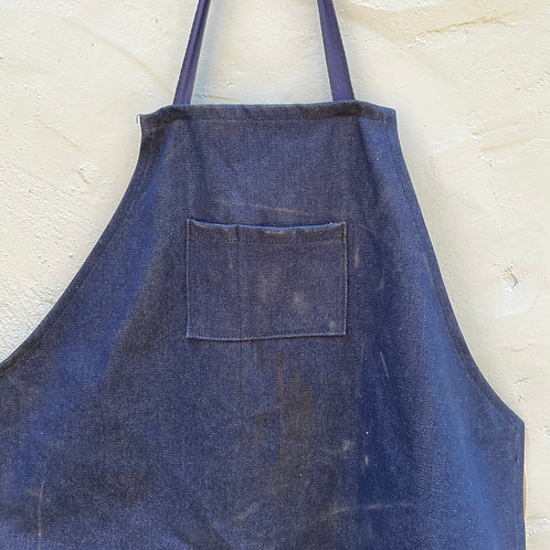 1960's Raw Denim Apron